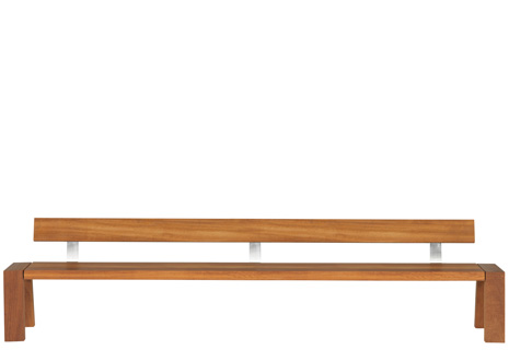Product Image SOLO BENCH W. BACK