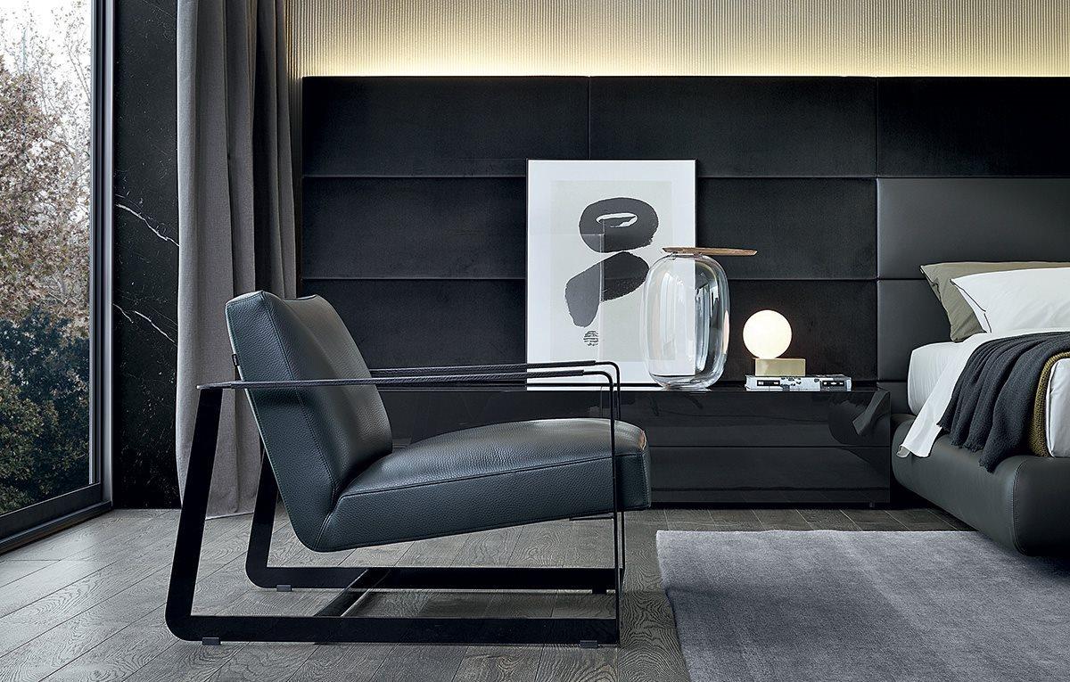 Poliform Furniture Seating Lounge Chairs Poliform Gaston Armchair Hundred Mile Home New York