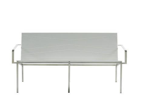 BANDOLINE DOUBLE LOUNGE HIGH BENCH    ·