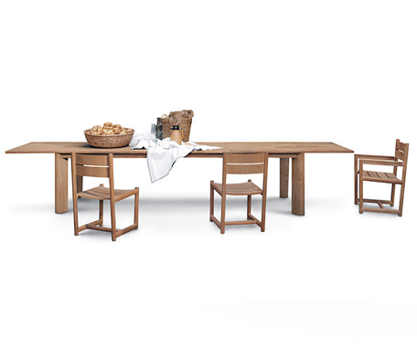 Product Image Brick Extendable Table