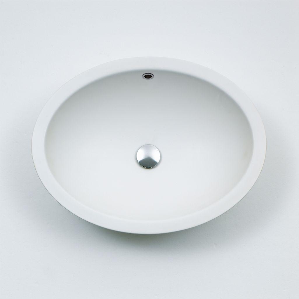 Product Image spoon semi-recessed washbasin