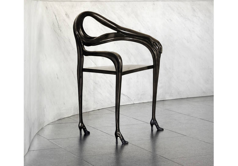 Product Image LEDA ARMCHAIR-SCULPTURE - BLACK LABEL LIMITED EDITION