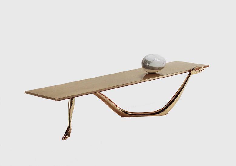 Product Image LEDA LOW TABLE-SCULPTURE
