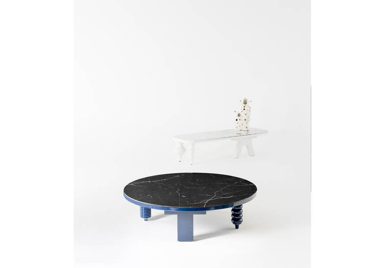 Product Image Marble Multiage Low Table