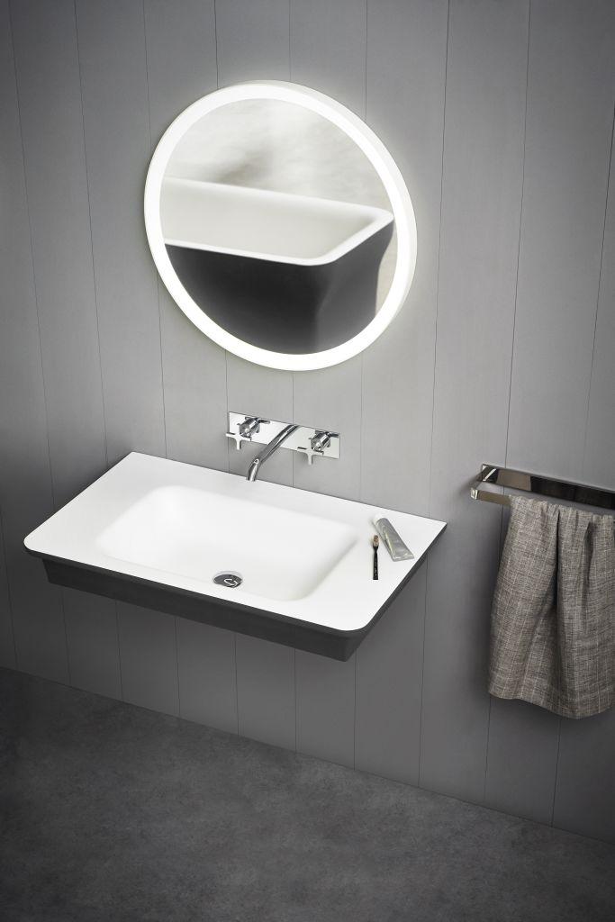 Product Image novecento XL wall-mounted washbasin