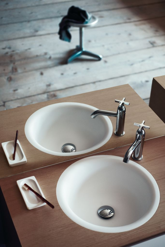 Product Image in-out built-in washbasin