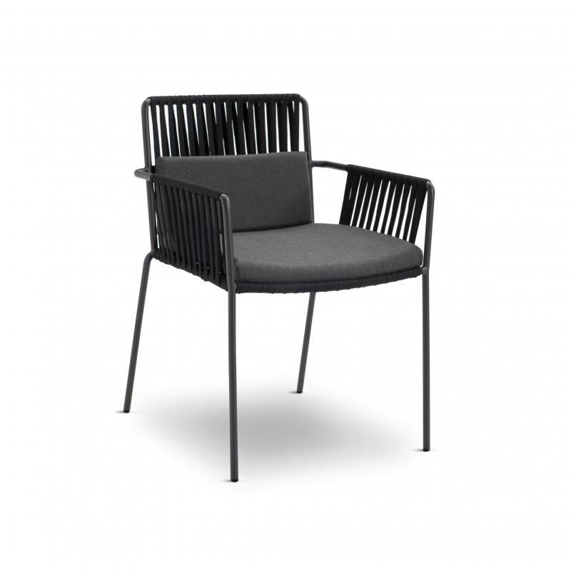 Net Dining Chair w. Arms·