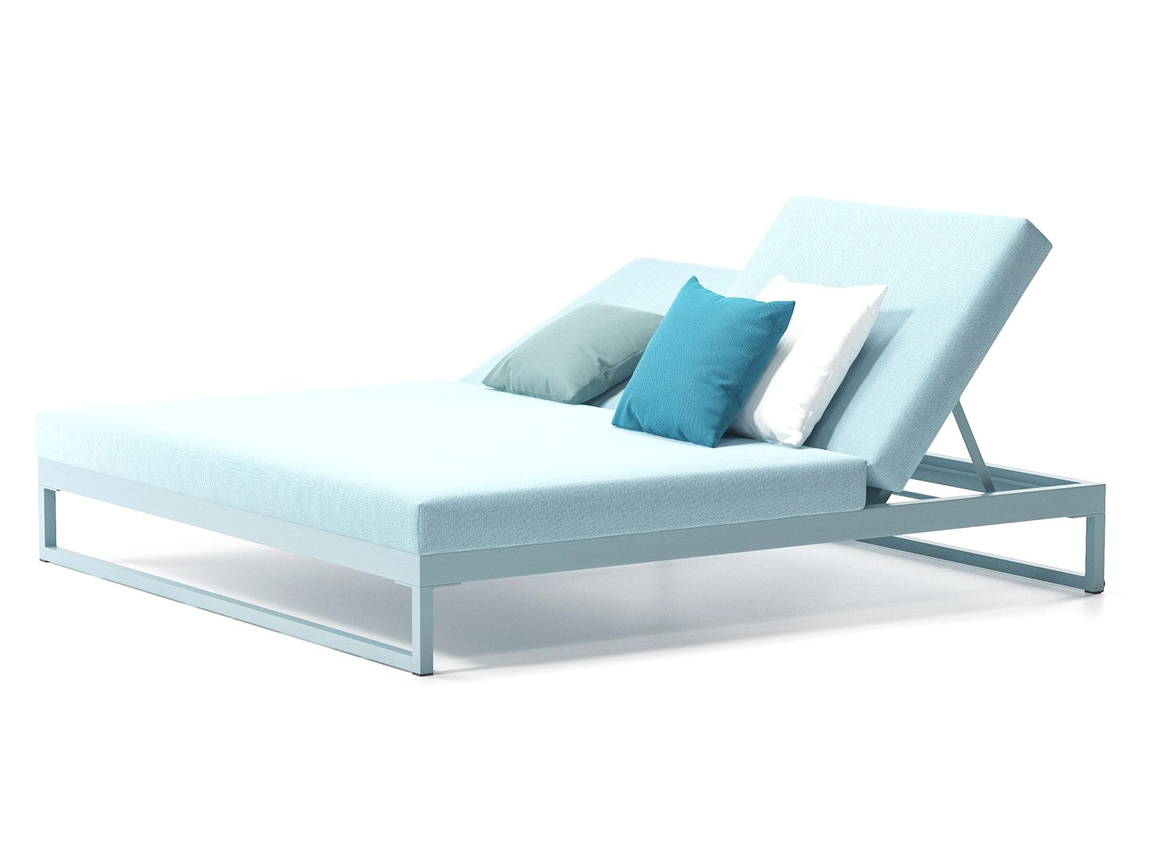 Product Image Landscape sunlounger Double with Legs