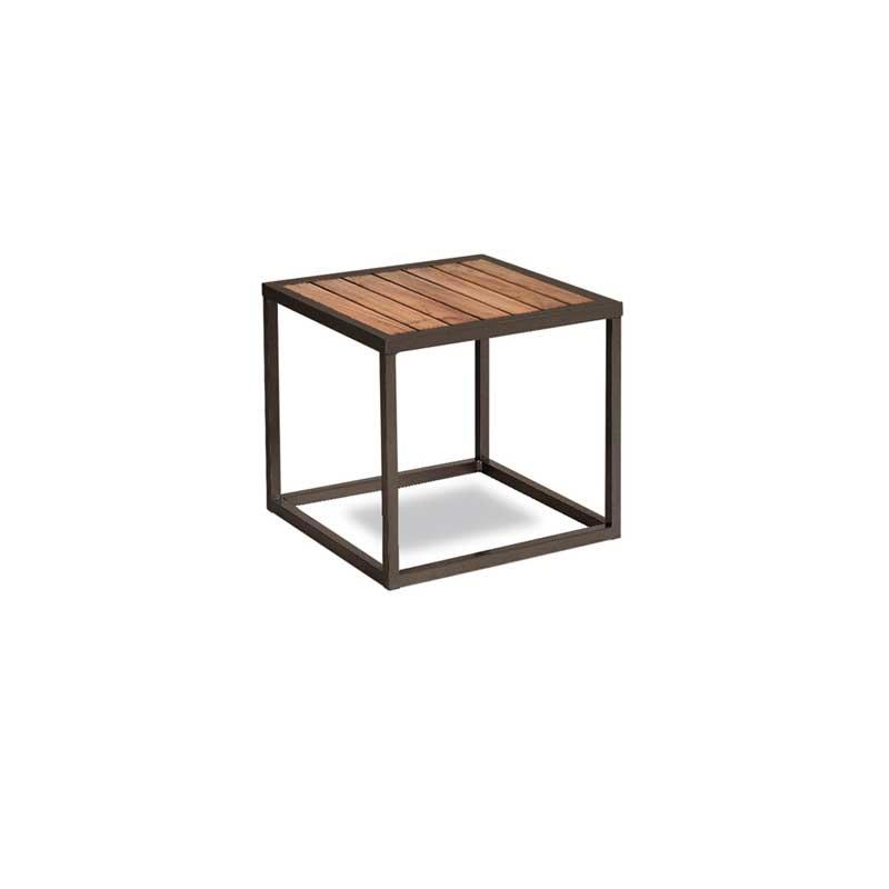 Landscape Teak Side Table    ·