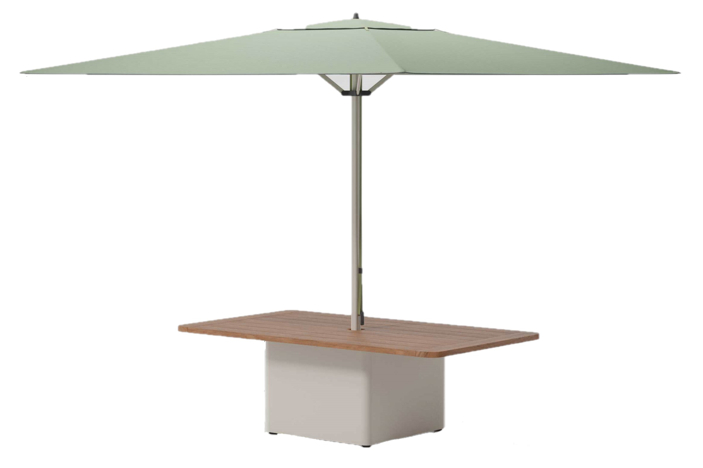Product Image Meteo Steel Centre Table Base Parasol