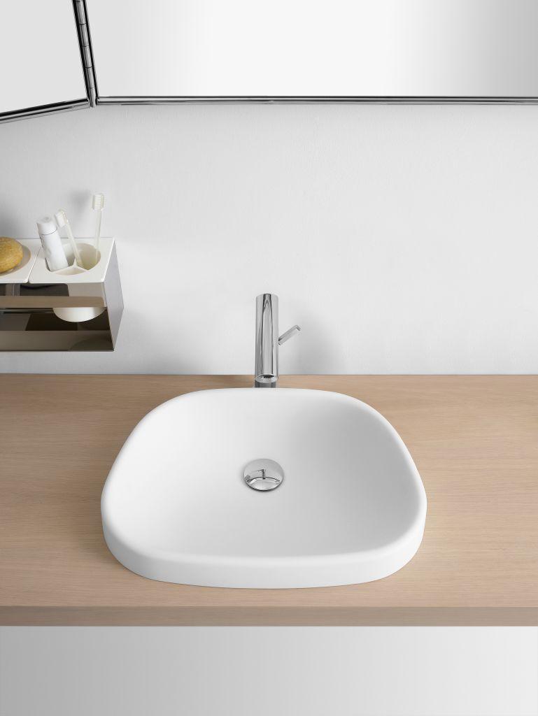 Product Image pear semi-recessed washbasin