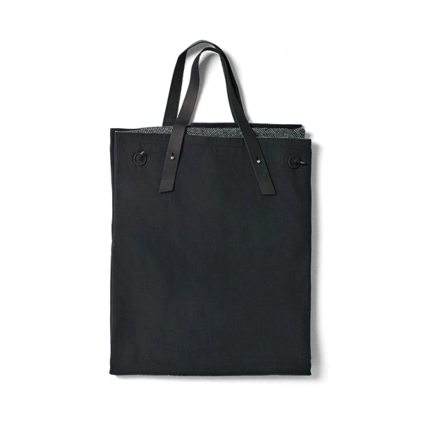 Picnic Tote Black | Dark Grey    ·