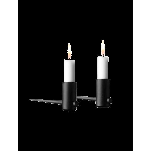 Pipe Candleholder Horizontal·