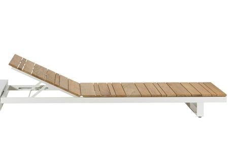 PURE Wooden Sunlounger·