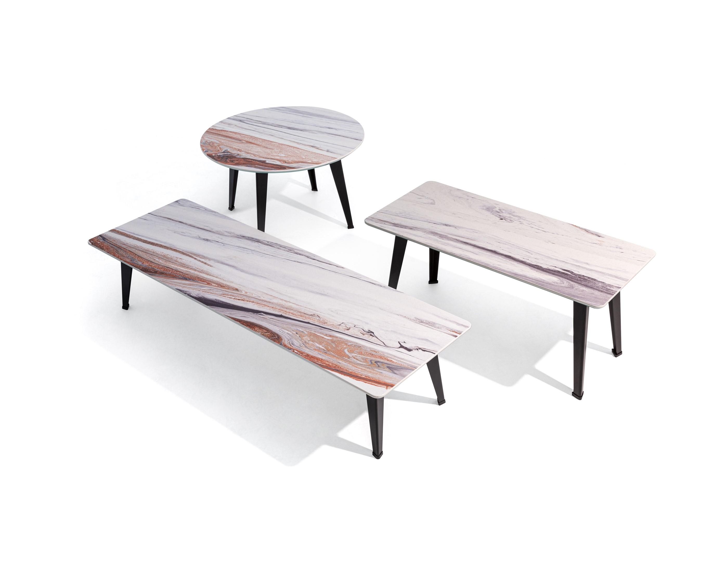 Product Image Pylon Liquid Marble Coffee Table