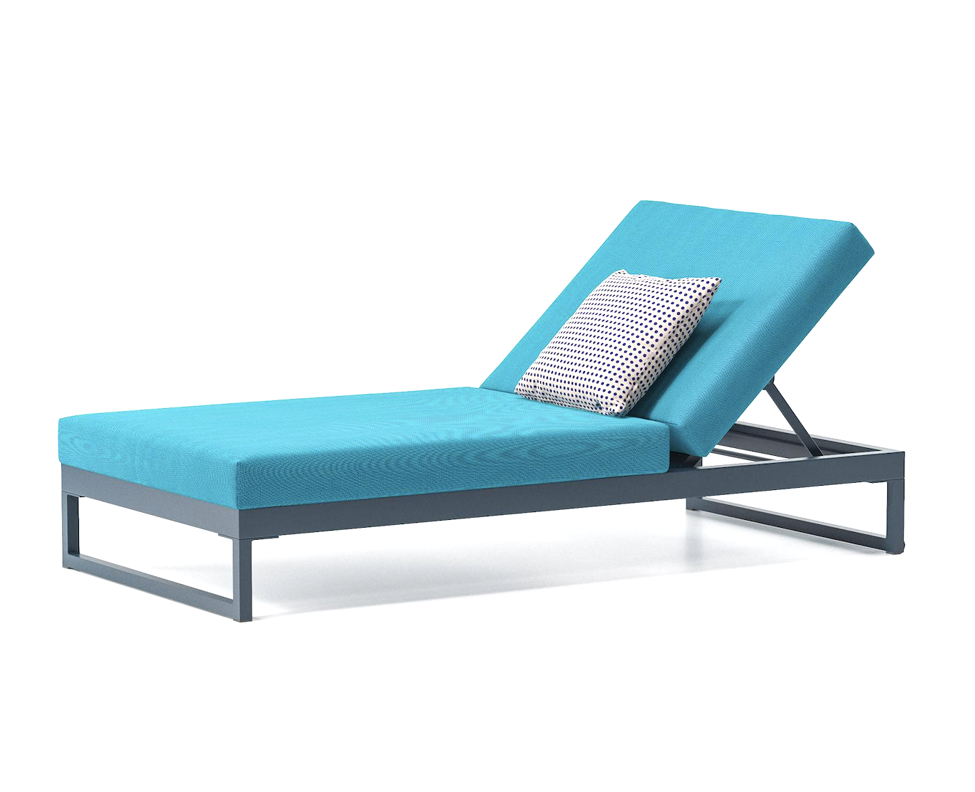 Product Image Landscape sunlounger with Legs