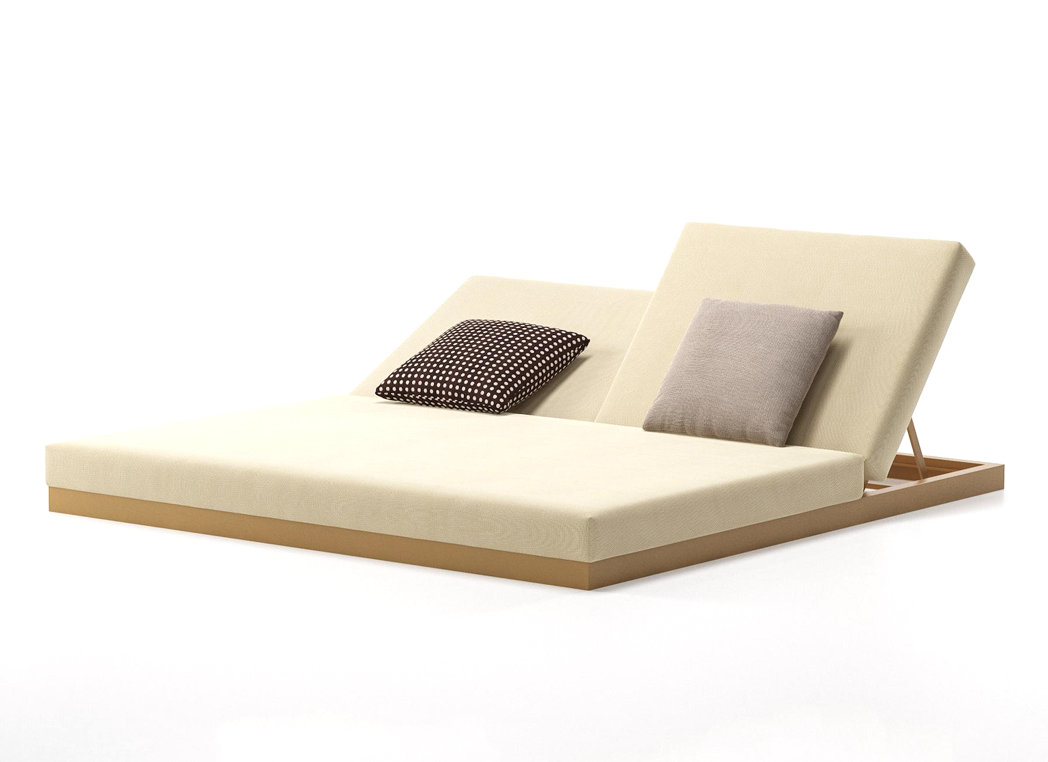 Product Image Landscape sunlounger Double without legs