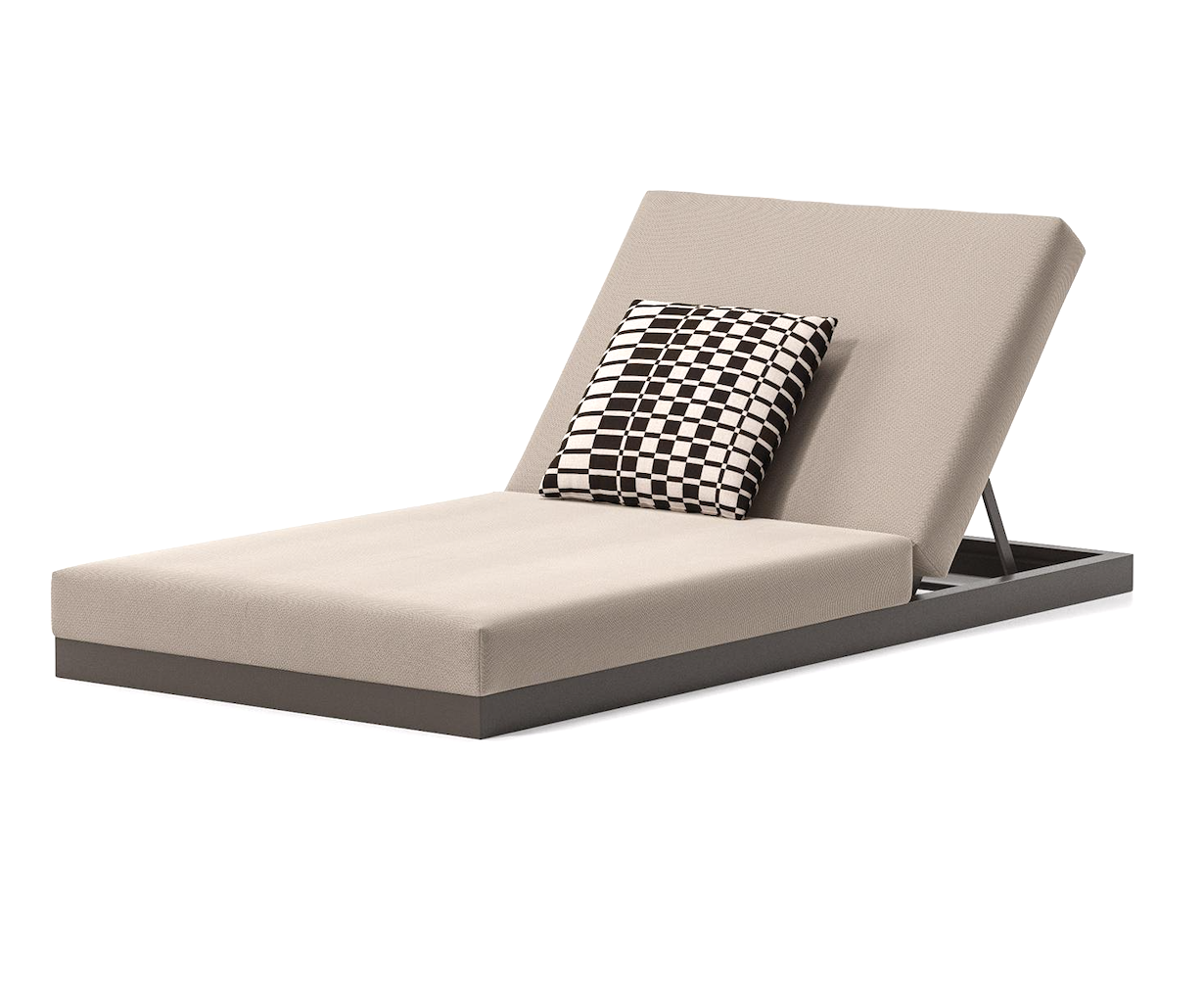 Product Image Landscape sunlounger without legs