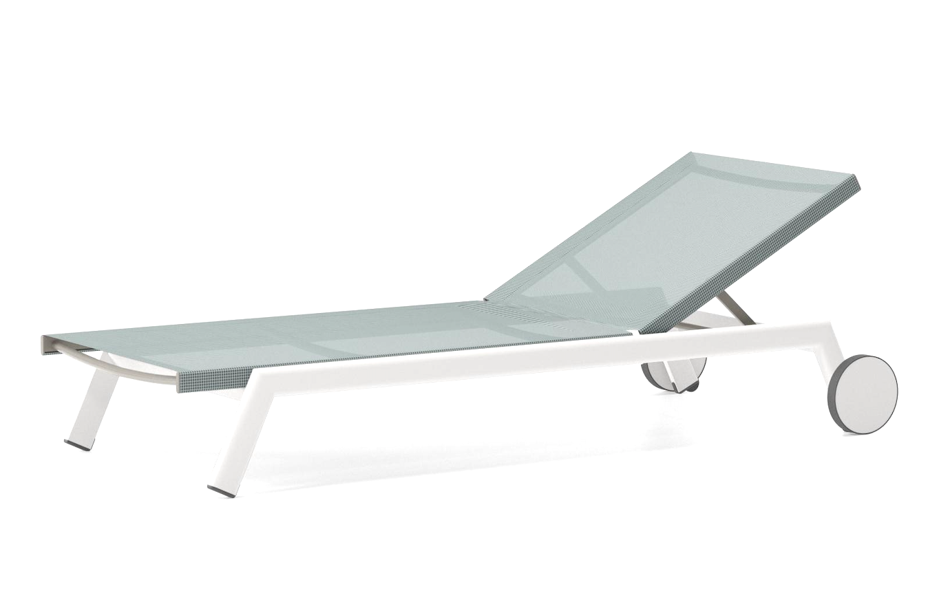 Product Image Molo stackable Sunlounger with Wheels