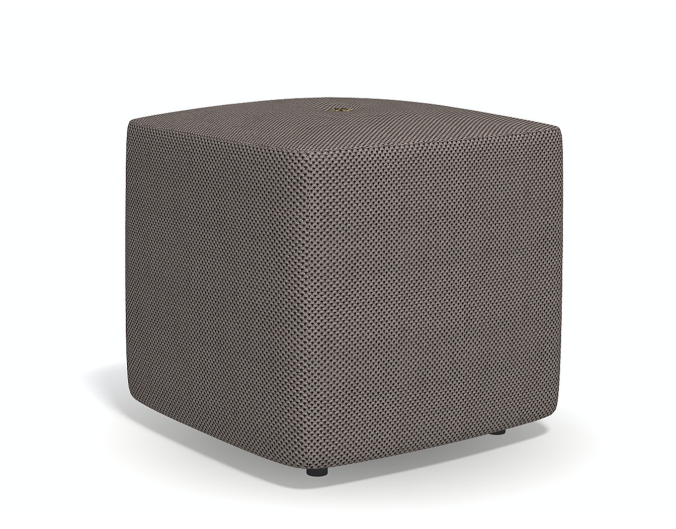 Product Image double square pouf high