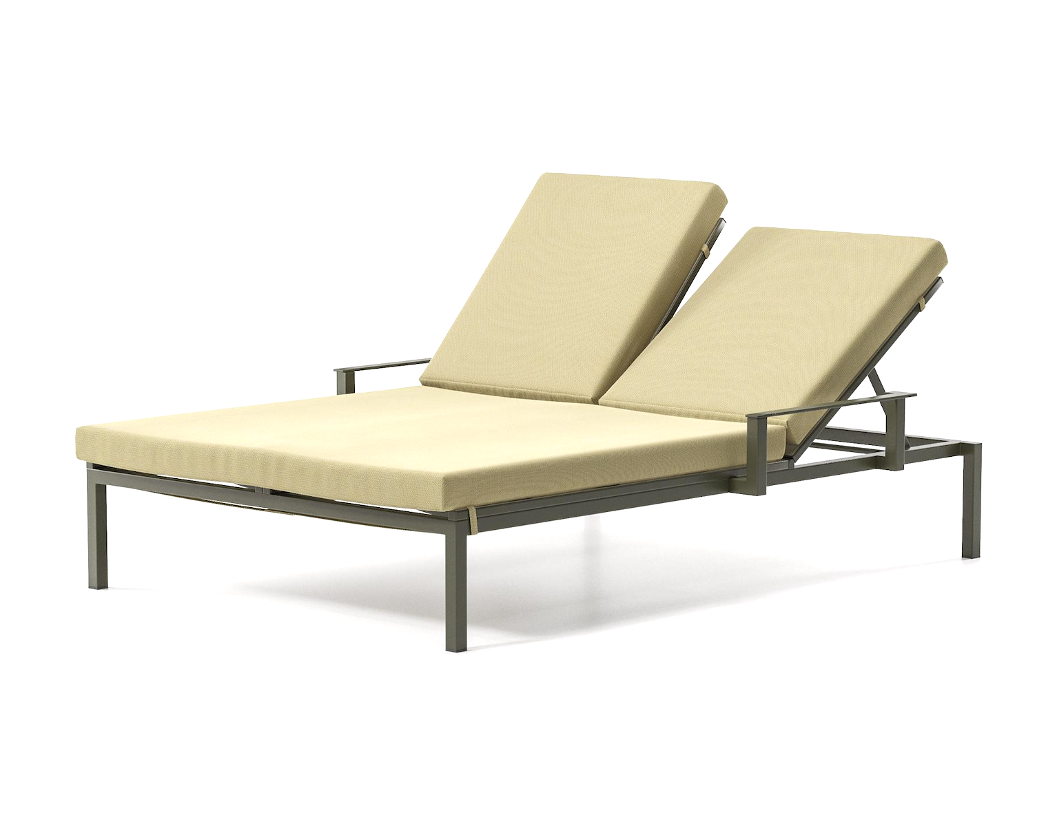 Product Image landscape via double sunlounger with arms