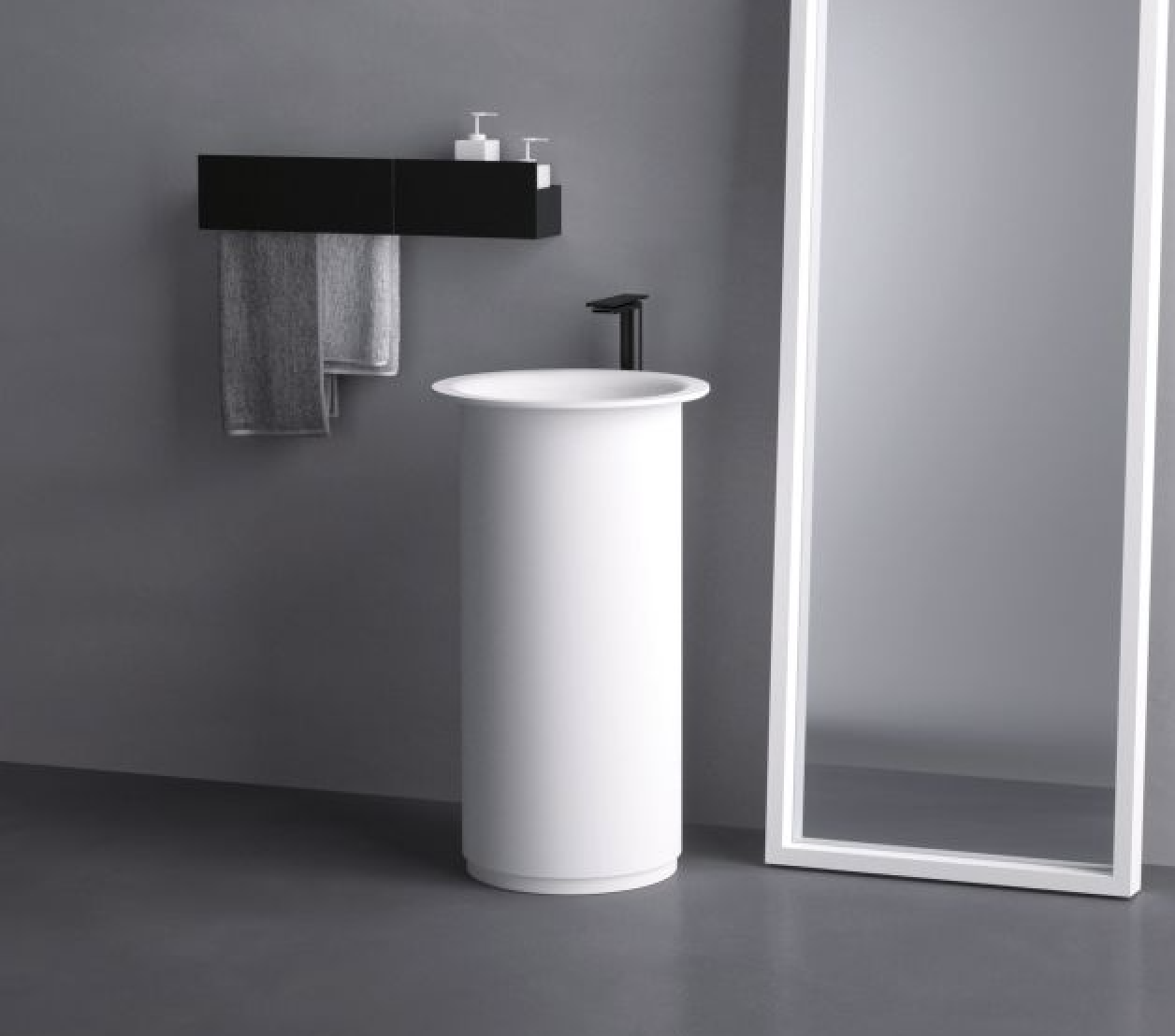 Product Image in-out free-standing washbasin