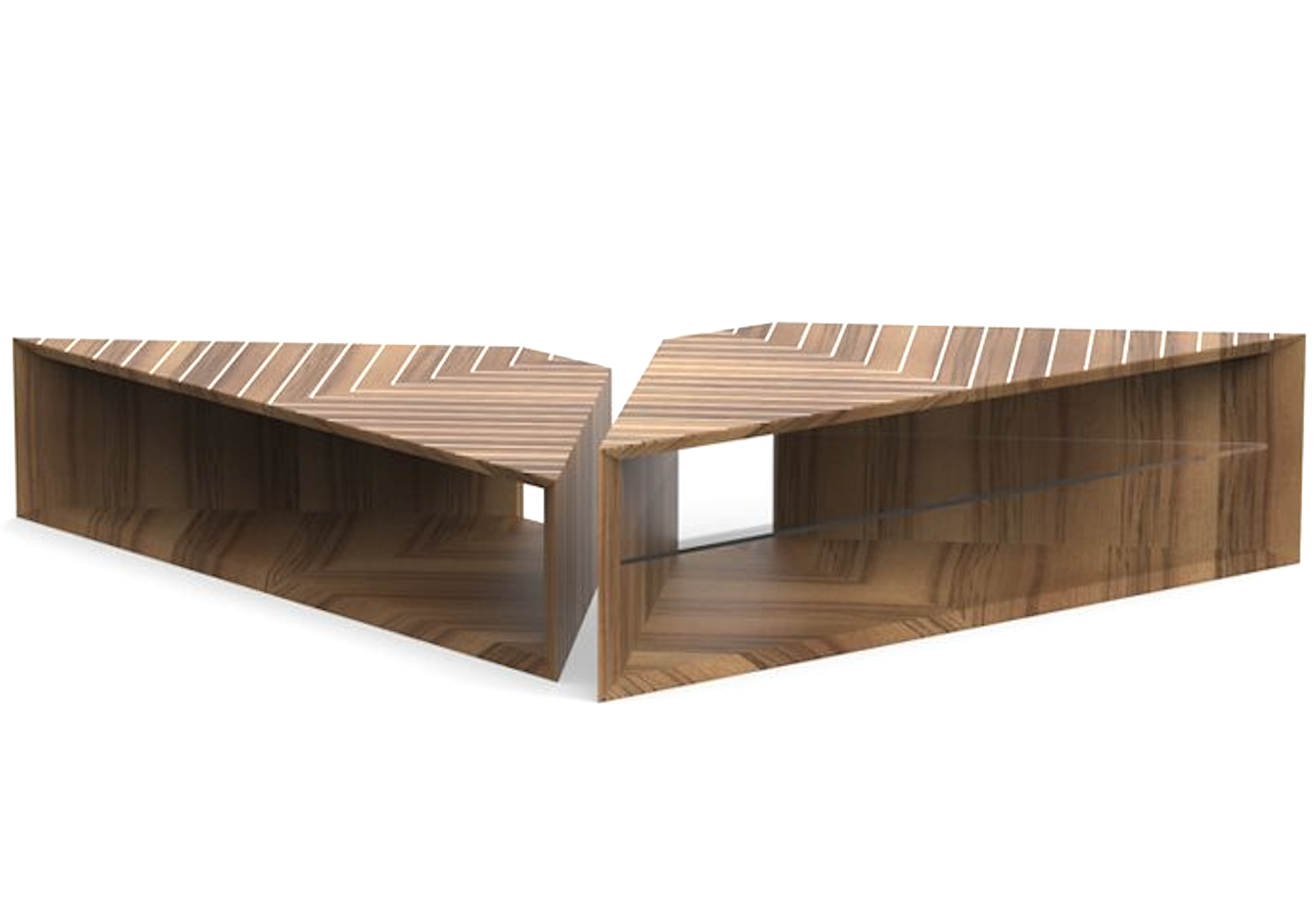 Product Image prism low coffee table