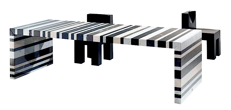 Product Image Barcode Dining Table