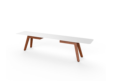 SLIM WOOD BENCH 200    ·