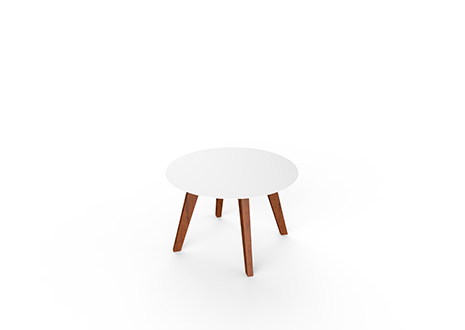 Product Image Slim Wood Lounge Round