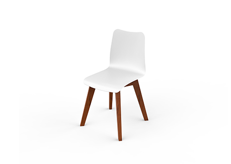 SLIM WOOD DINING Chair    ·