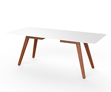 Slim Wood Dining Table 200    ·