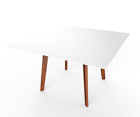 Slim Wood Square Dining    ·