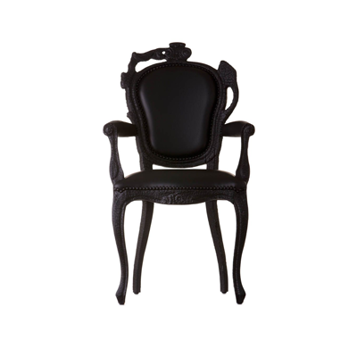 Product Image Smoke Dining Armchair