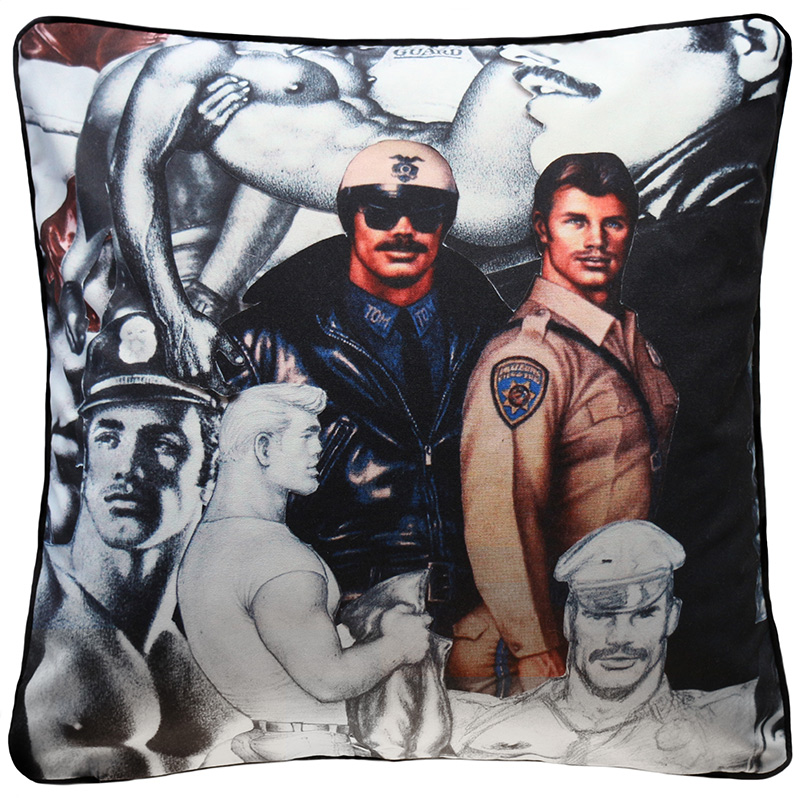 Product Image _TOM OF FINLAND | FINE ART PILLOW Art 41